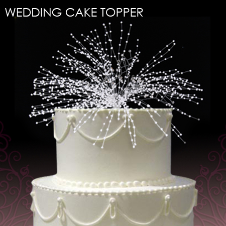 Wedding Cake Jewelry & Toppers: WithThisBling.com