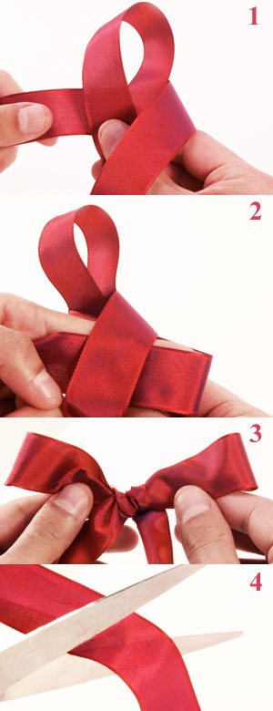 How to tie the perfect bow. « M&J Blog
