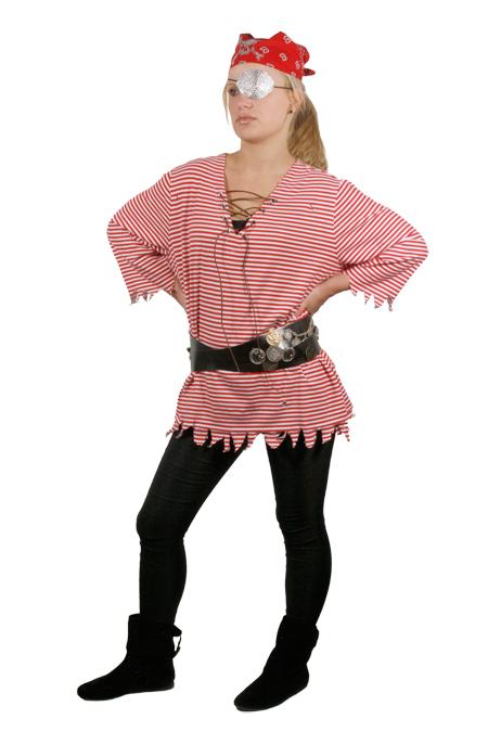 Cute feminine pirate costume m j blog for Easy diy women s halloween costumes