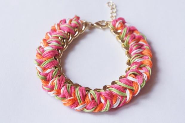 Ожерелья браслеты своими руками