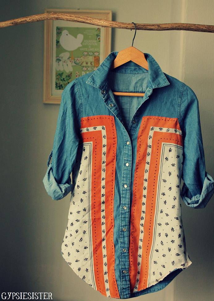 Top 5 DIY Denim Shirts MampJ Blog