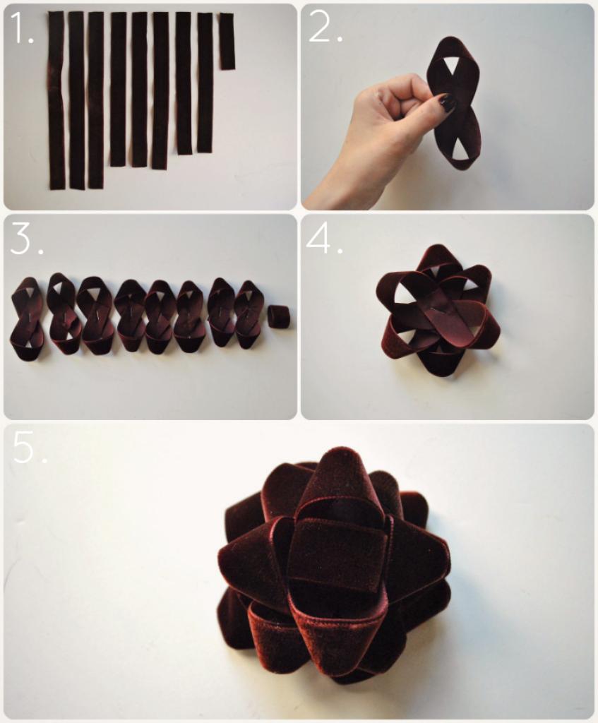 DIY Velvet Gift Bow MampJ Blog
