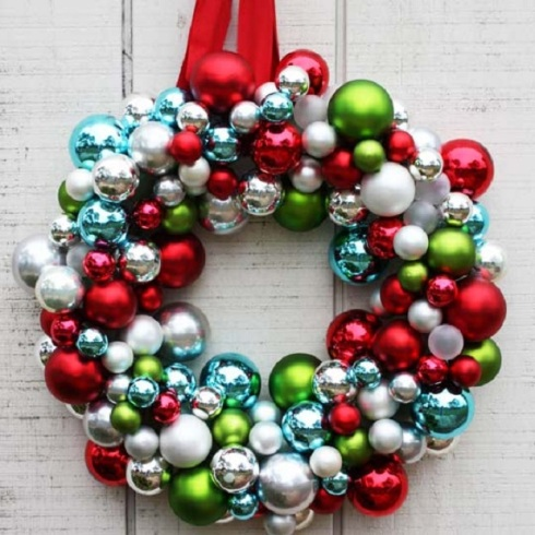 2 diy christmas wreath