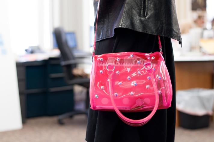 Lucite Bag DIY