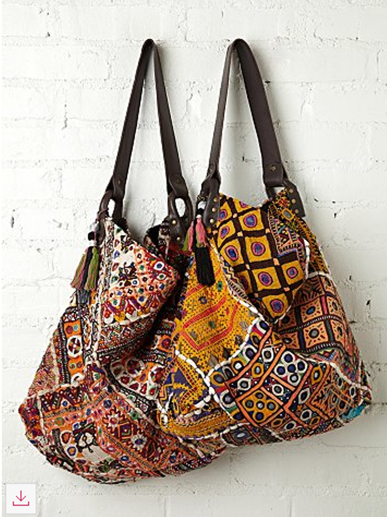 Free People Tapestry Bag
