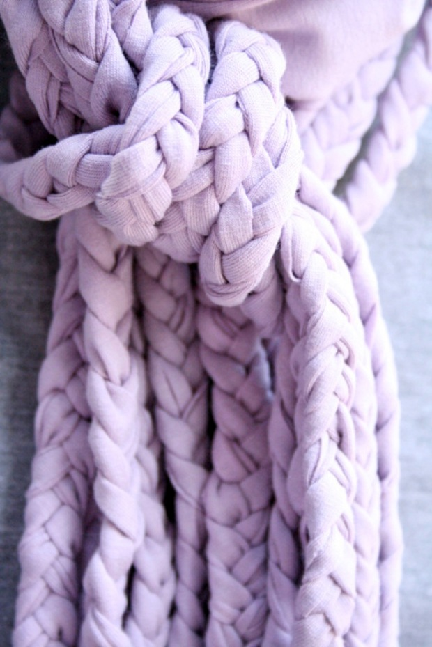 Jersey Knotted Scarf