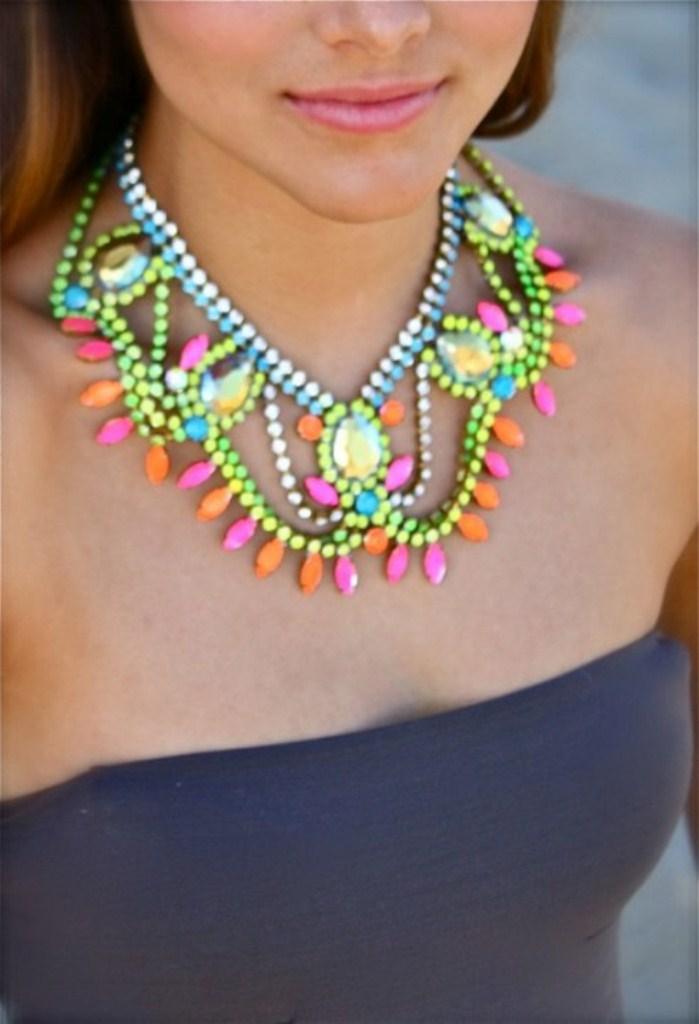 colored jewels