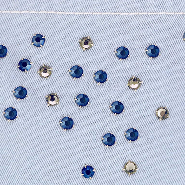Revamp your clothes using rhinestones 2