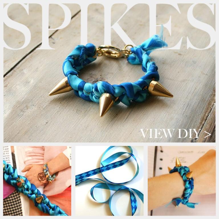 Trinkets in Bloom_spike-bracelet-diy-
