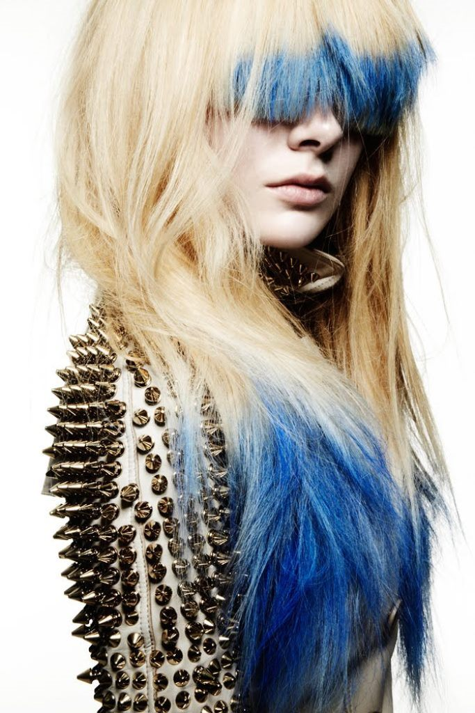blue-dip-dye-hair