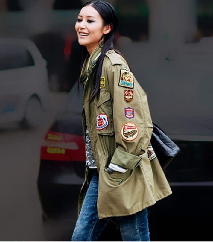 Cargo Jacket Patches