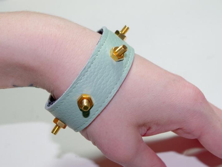 DIY Studded Bracelet