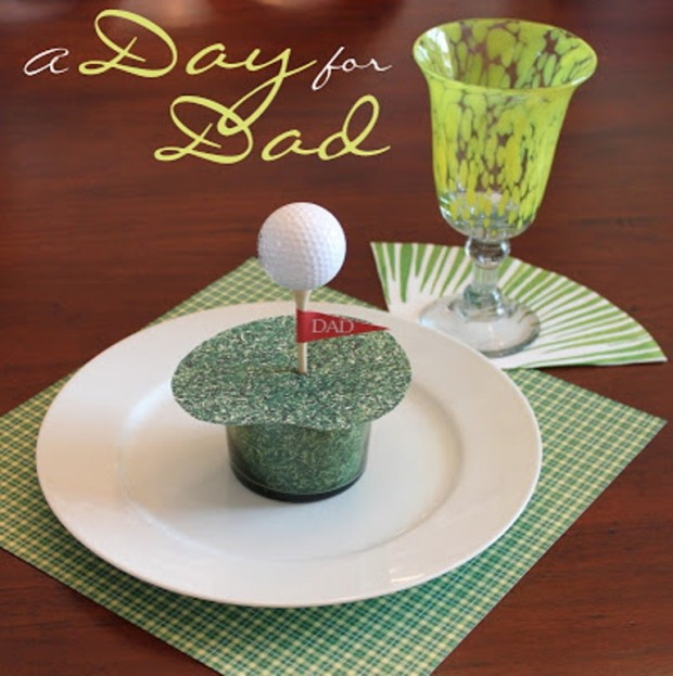 Golf Place Setting 1