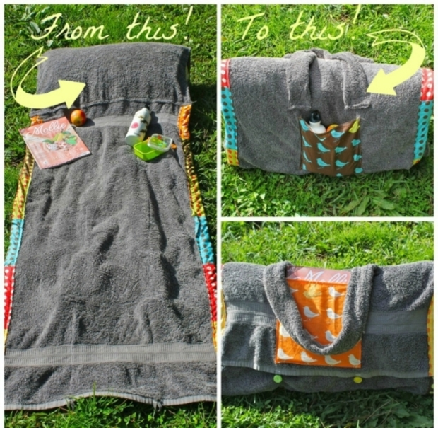 beach-towel-blanket-diy-tote-bag-summer-project