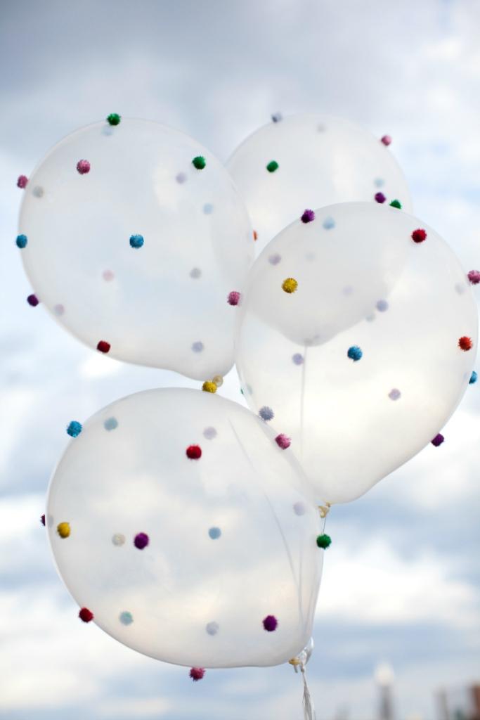 Pom Pom Balloon