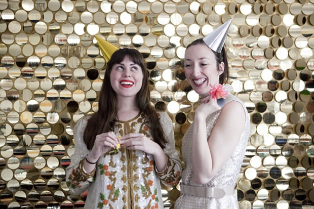 Sequin Photo Booth DIY