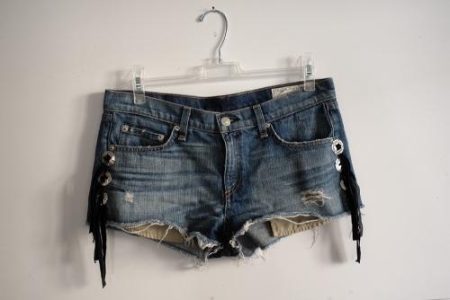 Western Shorts Fringe