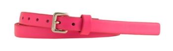 Neon Pink J.Crew Belt