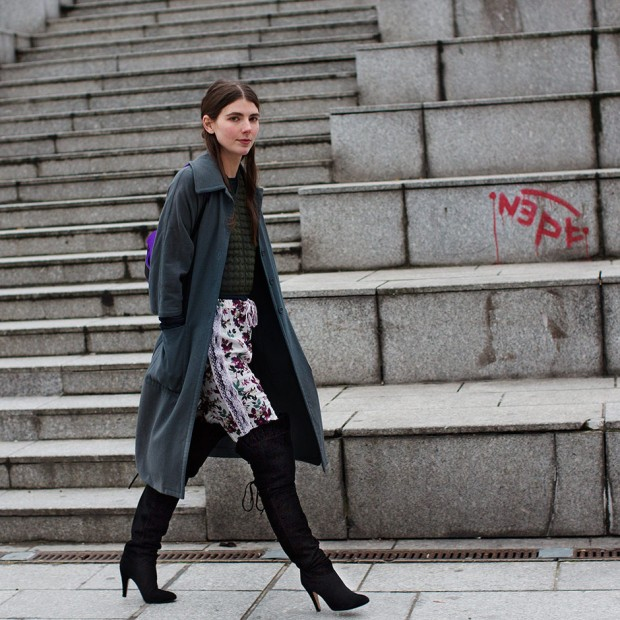 Over-the-Knee Boots from the Sartorialist