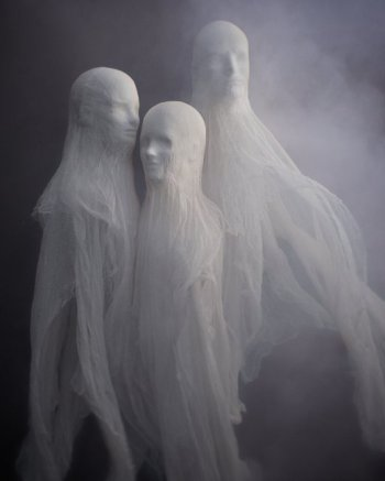 Cheesecloth Spirit Sculptures