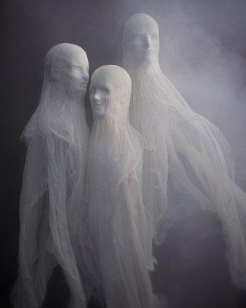 Cheesecloth Spirit Sculptures