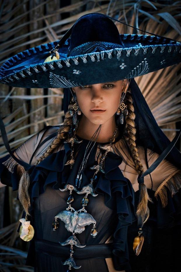 Marie Claire Dia de Los Muertos