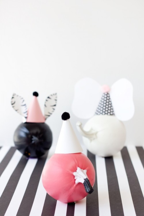 Studio DIY Party Animal Pumpkins