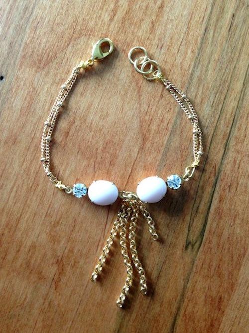 DIY Gatsby Bracelet