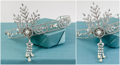 Gatsby Bridal Headpiece | M&J Trimming