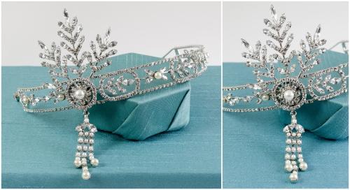 Gatsby Bridal Headpiece | M&J Trimming