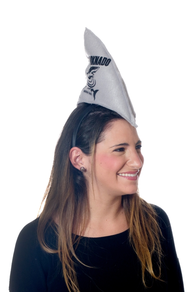 Sharndado Hat with Female Model | M&J Trimming