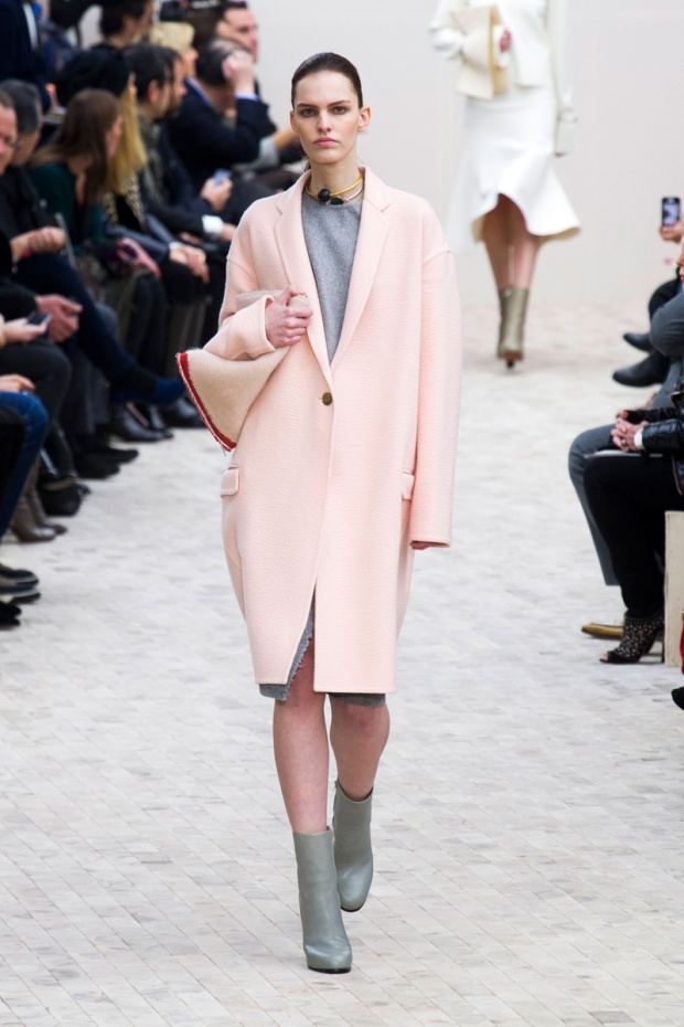 Elle Pastel Pink Outerwear