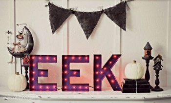 Halloween Marquee Letters from Lolly Jane