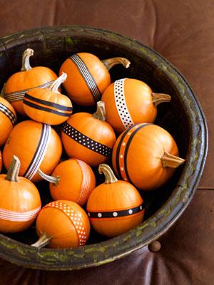 Good Housekeeping Ribbon Pumpkins