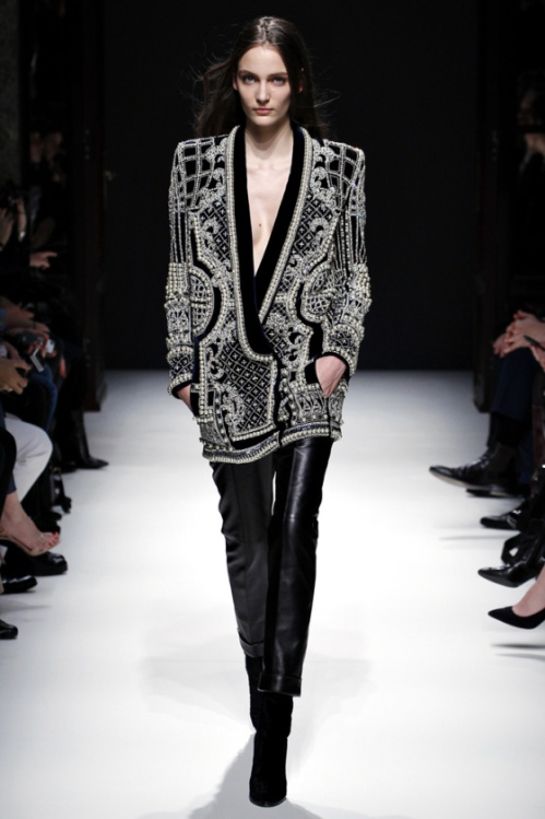 Balmain Fall 2012 Embellished Jacket