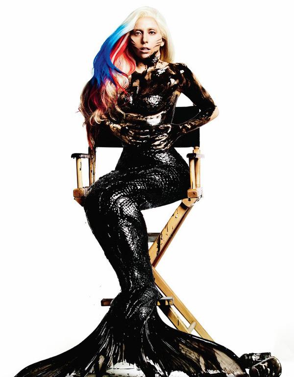 Lady Gaga Mermaid for Visionaire