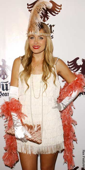 Lauren Conrad Flapper Halloween Costume