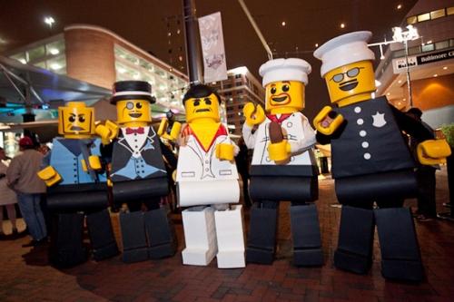 Lego Figures Costumes