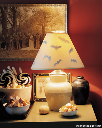 Martha Stewart Bat Lamp Shades