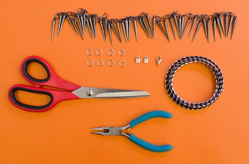 Materials-Punk-Spike-Bracelet