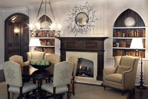 Gothic m j blog for Gothic living room ideas