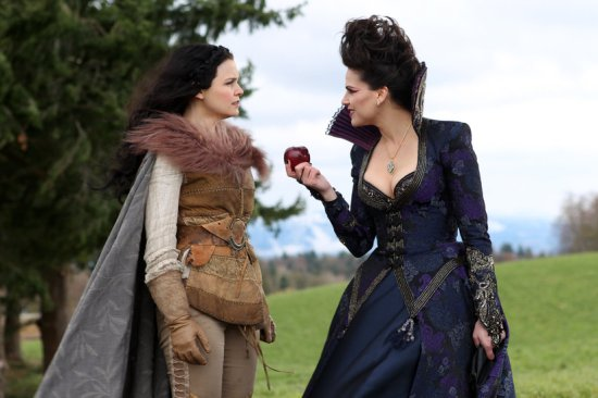 Snow White and the Evil Queen from Once Upon a Time