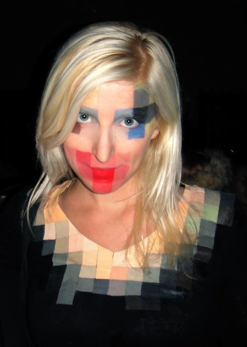 Pixel Girl Costume