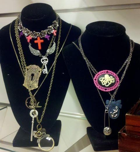 Sea Punk Necklaces | M&J Trimming