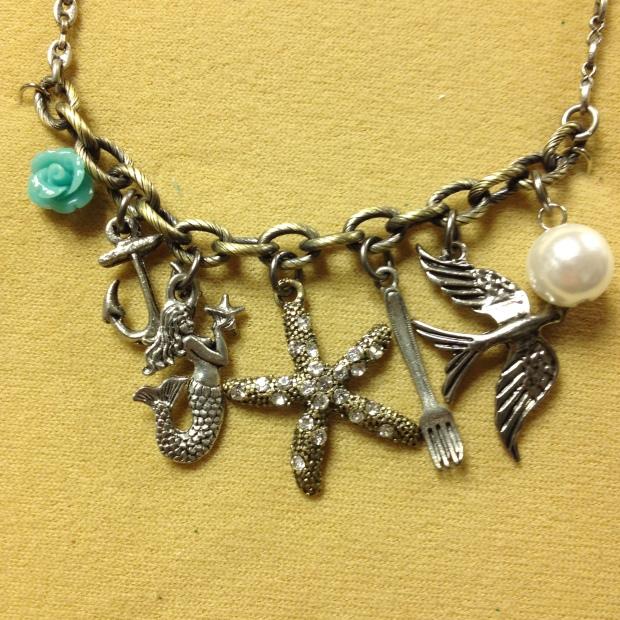 Sea Punk Charm Necklace | M& J Trimming