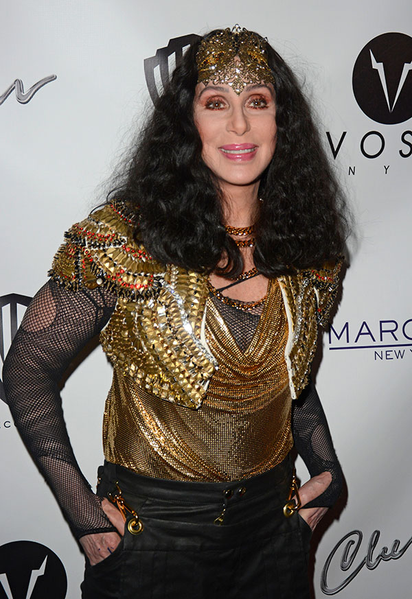 Cher in Carlos's Design | M&J Trimming