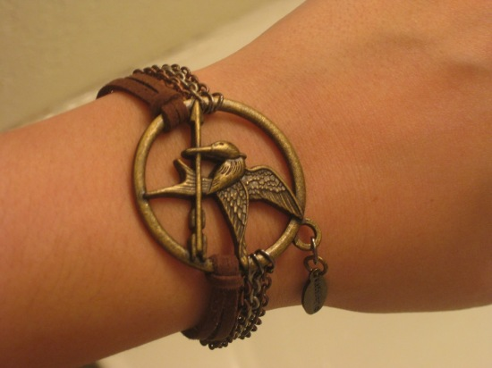 Mockingjay Bracelet from Geekphoria