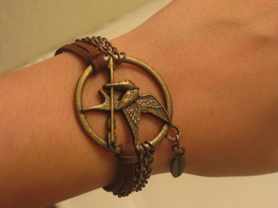 Mockingjay Bracelet from Geekphoria