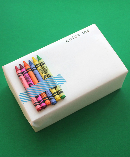 Interactive Gift Wrap for Kids from Miss Webbie