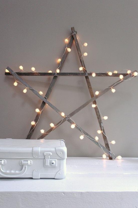 Christmas Star DIY from Vosges Paris